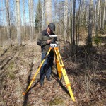 Seminar about centimeter positioning with GPS in forest