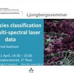 Seminar: Tree species classification using multi-spectral Lidar