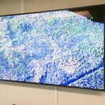 75″ TV for presentations