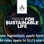 SLU internal seminar on new regulations for flying drones